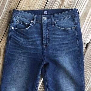 Gap jeans high waist skinny like new condition